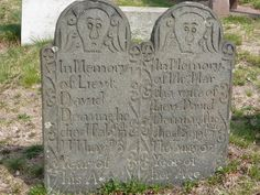 Nutfield Genealogy: Tombstone Tuesday ~ David and Martha Deming, Wethersfield, Connecticut #genealogy