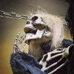 Blown away by the lifelike Halloween decorations and props! @thecostumeshoppe is the perfect place to deck out your haunted house! #halloween #dressup #sayyestothedress #yycadventures #sixfootcanasian #6FCA #yyc