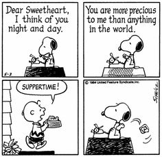 peanuts comics love - Google Search