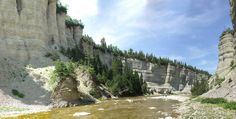 Vaureal River canyon, Anticosti Island, Gulf of the Saint-Lauence River (Quebec) Destinations, St Lawrence, O Canada, Jpg, Quebec, Tour, North America, Mount Rushmore, Bucket