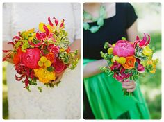 Bright Bouquets. Photo by Eclectic Images.