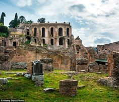 Nestling at the foot of the hill where Rome's emperors once lived, Santa Maria Antiqua was buried under rubble by an earthquake in 847 and only uncovered in 1900. This picture was taken in 2014