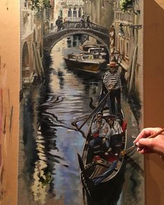 Fresh off the easel.  Beautiful memories of Venezia ;) Workshop adventures in #italy with #janetknight   4th - 14th May 2018  Tuscany and Umbria surrounds   8th - 18th September 2018  Amalfi Coast   Info janet@janetknight.com.au  www.tuscanyintheframe.com  #italy #inspiration #italytravel #tuscany #venice #lakecomo #love #art #pleinair #artworkshops #fun #adventure #melbourneartist #oilpainting #pastelpainting #watercolours #❤️