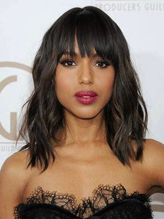 15 of the Latest Mid Length Hairstyles for Thick Hair Pictures