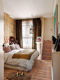 bohemian and feminine bedroom decor