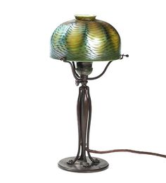 Tiffany Art Nouveau RARE Favrile Table Lamp Around 1905 | eBay