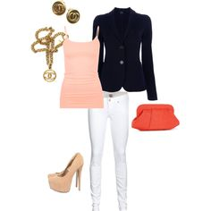 """""""If coral clutches only existed in real life"""" by brandy-michelle-ott on Polyvore"""