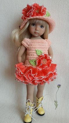 """OOAK Outfit for Doll 13"""" Dianna Effner Little Darling Hand Made   eBay"""