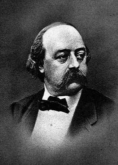 Gustave Flaubert (1821-1880)   (b/w photo) Ken Welsh Private Collection Bridgemanart.com