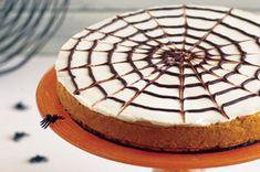 Spider Web Pumpkin Cheesecake recipe