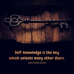 Quote about self-knowledge and self-discovery by John Mark Green #johnmarkgreen #johnmarkgreenpoetry