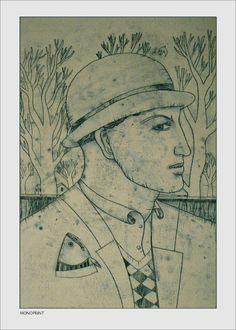 Monoprint by Pawel Krol