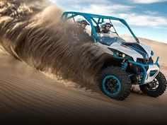 New 2016 Can-Am Maverick X ds TURBO 1000R Hyper Silver & ATVs For Sale in Michigan.