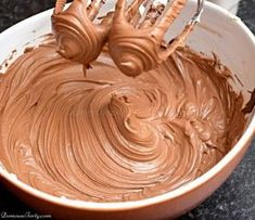 Frosting Recipes, Cake Recipes, Polish Desserts, Food Cakes, No Bake Cake, Sweet Recipes, Sweet Treats, Food Porn, Food And Drink