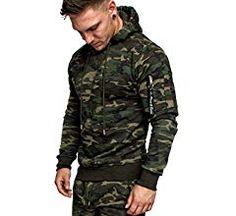 Amaci&Sons Herren Cargo-Style Pullover Sweatshirt Hoodie Sweater Camouflage 4003 Camouflage Khaki M: Amazon.de: Bekleidung Camouflage, Pullover, Sweatshirt, Military Jacket, Jackets, Sweater, Fashion, Sporty, Clothing