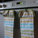 10 Minute $2 Gift- Hanging Kitchen Towels