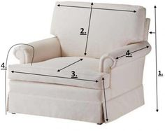 Making slipcovers.  I would love to try this, but it would be a lot of fabric to waste if I made a mistake.
