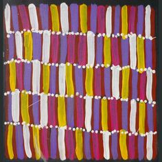 Lena Pwerle ART-LP011 (30x30cm) $180 on stretcher<a class='enquirenow' href=http://www.artitja.com.au/enquire-now/?cat_number=ART-LP011> Enquire Now</a>