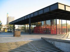 The Neue Nationalgalerie in Berlin: one of my favorite art museums of all times.  Even the building (designed by Mies van der Rohe) is a piece of art.