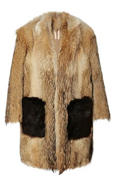 Clover Fur Coat by No. 21 - Moda Operandi
