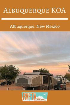 Albuquerque, New Mexico is a must-visit destination in the southwest with its unique blend of urban and outdoor adventure, plus an amazing local food culture. And the Albuquerque KOA is a great urban camping destination right in the heart of the city. New Mexico Albuquerque, Albuquerque News, New Mexico Camping, Camping Activities, Camping Hacks, Camping Spots, New York State Parks, Best Places To Camp, Rv Travel