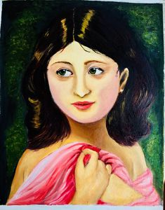 Lolita- a young girl with 'right out of shower' look. The girl is a combination of innocence and seductiveness. My Etsy Shop, Disney Princess, Painting, Painting Art, Paintings, Painted Canvas, Disney Princesses, Disney Princes, Drawings