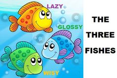 Story telling is one of the ways to develop good habits in kids. Here is the three fishes story with a moral that lets you know the importance of story telling. Good Moral Stories, English Moral Stories, English Stories For Kids, Funny Stories For Kids, Learning English For Kids, English Story, Social Stories, Free Kids Books, Kids Story Books