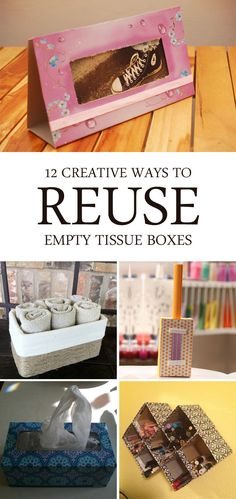 12 Creative Ways to Reuse Empty Tissue Boxes