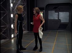 Tumblr is a place to express yourself, discover yourself, and bond over the stuff you love. It's where your interests connect you with your people. Star Trek Voyager, Star Trek Tos, Captain Janeway, Star Trek Universe, Light Of My Life, Leather Pants, Sporty, Stars, Connect