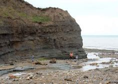 Boggle Hole fossil hunting. An amazing place to stay. Magical and spooky all at once!