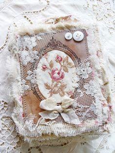 Handmade Vintage Mini Album by ShabbySoul.etsy.com