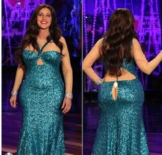 """When she dressed as Sofia Vergara's infamous wardrobe malfunction. 