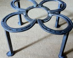 Fire pit insert cooking & camp fire ring by BlacksmithCreations
