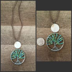 A personal favorite from my Etsy shop https://www.etsy.com/listing/476366535/wire-wrapped-tree-of-life-necklace-2