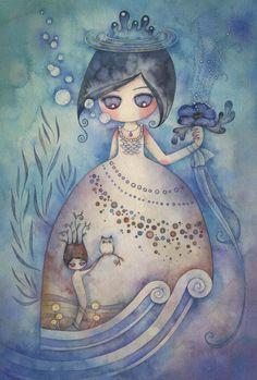 wunderschöne Aquarelle