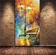 Cheap decorative painting pictures, Buy Quality decorative wood painting directly from China painting sunrise Suppliers: Large Handpainted Abstract Modern Wall Painting Rain Tree Road Palette Knife Oil Painting On Canvas Wall Decor Ho Canvas Wall Decor, Wall Art Decor, Canvas Art, Large Canvas, Abstract Canvas, Room Decor, Rain Painting, Oil Painting Abstract, Oil Paintings