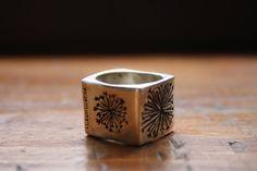 Square Dandelion Ring  From:Bilyana