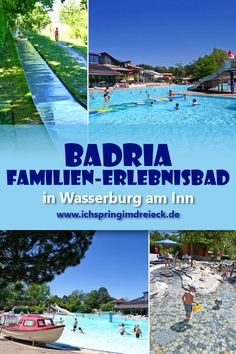 Das Badria – großartiges Erlebnis-Schwimmbad für Familien mit Kindern in Wasserburg am Inn The fenced toddler area in Badria is an absolute dream for all families. The non-swimmer pool also has plenty Camping Activities, Family Activities, Greatest Adventure, Adventure Travel, Trailers Camping, Clever Kids, Camping Holiday, Dream Pools, Road Trip Hacks