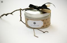 Soy wax candle  Travel Tin by TheCandleBoxCandles on Etsy