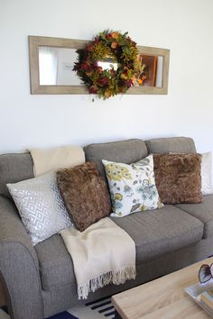 Blogger Stylin' Fall Home Tour | http://www.hammerandheelsblog.com/blogger-stylin-fall-home-tour/