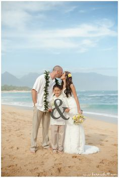 Cute Wedding Idea Adorable Family Photo Maui