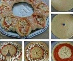 Pizza - Kranz  by Thermimaus on www.rezeptwelt.de