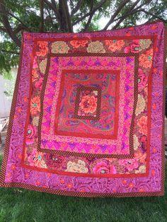 IMG_2861 | Kaffe Fassett quilt top inspired by Jane Brockett… | Flickr