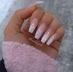 Risultati immagini per nails gel ballerina white