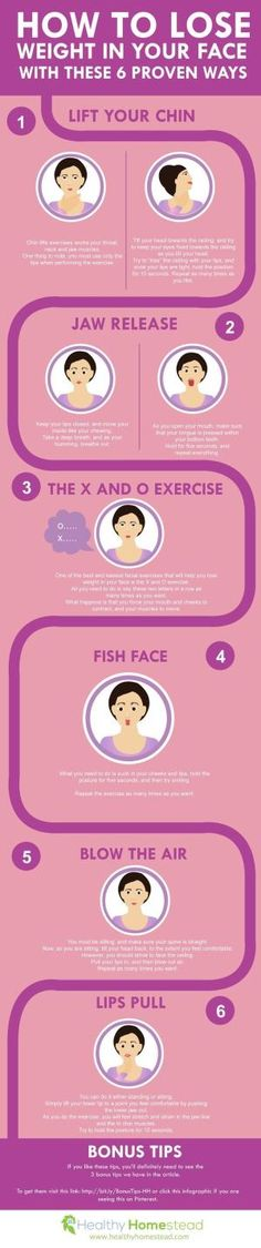 How to Lose Weight in Your Face With These 6 Proven Ways by bleu.