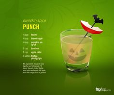 Pumpkin Spice Punch!