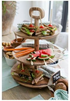 Summer Garden Party Decor and Food Inspiration Carrots And Peanut Butter, Catering Buffet, Brunch, Plastic Plant Pots, Lunch Room, Bakery Cafe, Mini Desserts, Homemade Cakes, High Tea
