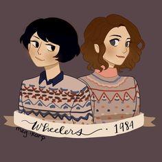Awww I like the Wheeler family sweaters :)