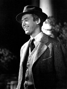 "Jimmy Stewart in ""Harvey"""