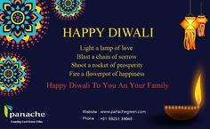 Happy Diwali To You and Your Family   From : http://www.panachegreen.com